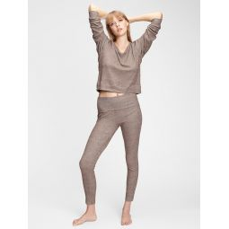 Softspun Ribbed Foldover Leggings