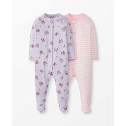 Footed Sleeper In Organic Cotton