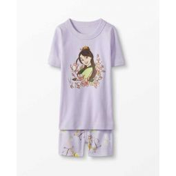 Disney Mulan Short John Pajamas