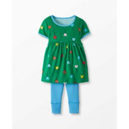 Dress Set In Organic Cotton