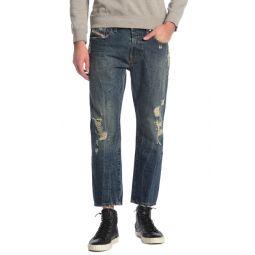 Mharky Skinny Straight Leg Jeans
