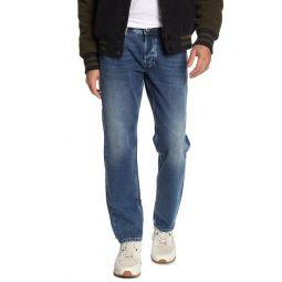 Larkee Regular Fit Tapered Leg Jeans