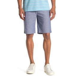 Chambray Bermuda Shorts