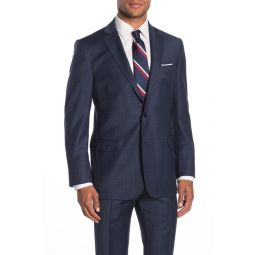 Navy Check Two Button Notch Lapel Regent Fit Suit Separates Jacket