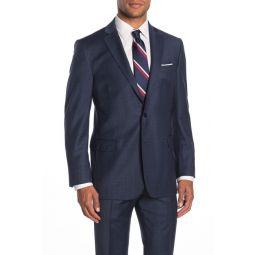 Navy Check Two Button Notch Lapel Regent Fit Suit Separates Jacket