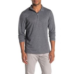 Melange Half Zip Active Shirt