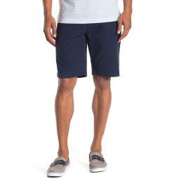 Solid Seersucker Bermuda Shorts