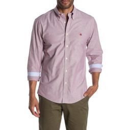 Brookscool(R) Non-Iron Stretch Regent Fit Oxford Shirt
