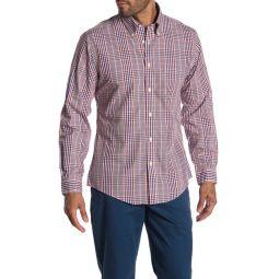 Non-Iron Check Print Regent Fit Shirt