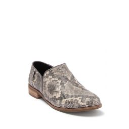 Shaye Snakeskin Embossed Leather Loafer