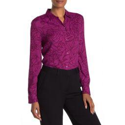 Essential Floral Long Sleeve Shirt