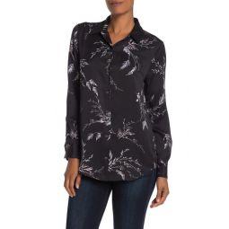 Essential Floral Silk Blend Shirt
