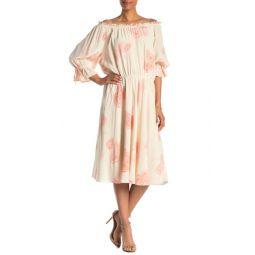 Cheyenne Off-the-Shoulder Midi Dress