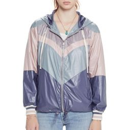 Sport Chevron Windbreaker