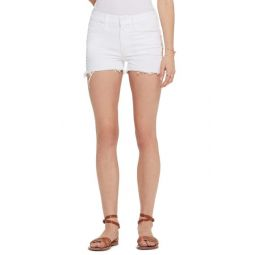 The Dutchie High Waist Embroidered Cutoff Denim Shorts (Almost Innocent)
