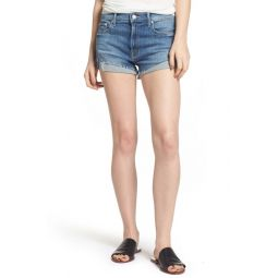 The Rascal Slit Flip Denim Shorts (One Smart Cookie)