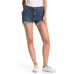 Rascal High Waisted Distressed Denim Shorts