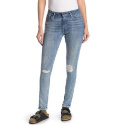 721 Distressed High Waisted Skinny Jeans - 30 Inseam