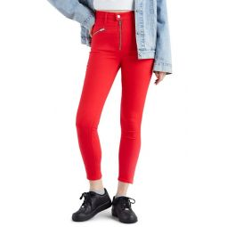 Levis(R) Moto T2 High Waist Ankle Jeans (Lychee)