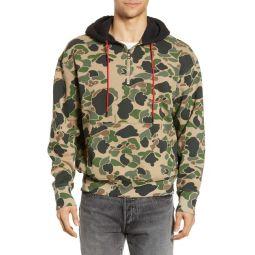 Levis(R) x Justin Timberlake Half Zip Hooded Sweatshirt