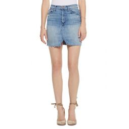 The Sacred Slit Denim Mini Skirt