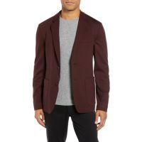 Clinton Trim Fit Wool Interlock Sport Coat