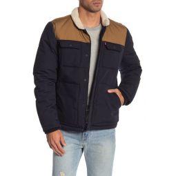 Faux Shearling Woodsman Jacket