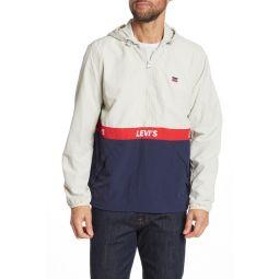 Taslan Logo Half Zip Pullover