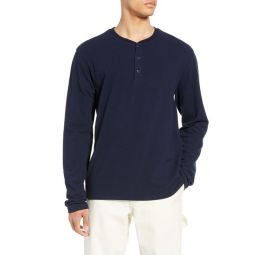 Solid Long Sleeve Henley