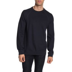 Solid Raglan Rib Knit Thermal