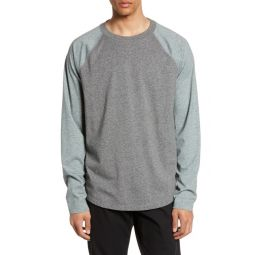Colorblock Raglan Long Sleeve T-Shirt