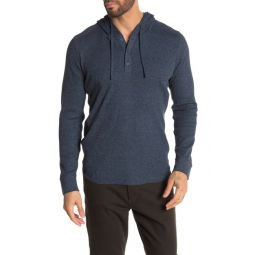Hooded Thermal Long Sleeve Henley