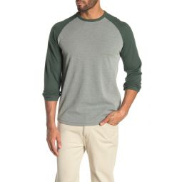 Long Sleeve Thermal Knit Baseball T-Shirt