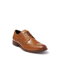 Leather Wing Tip Derby