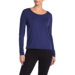 Drapey V-Back T-Shirt