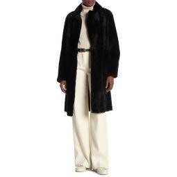 Genuine Shearling Coat