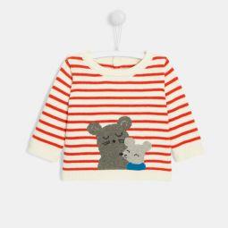 Baby boy striped sweater