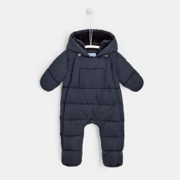 Baby nylon snowsuit