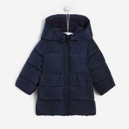 Toddler girl nylon puffer jacket