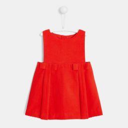 Baby girl velvet dress