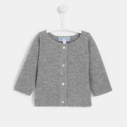 Baby boy cashmere cardigan
