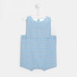 Baby boy striped onesie