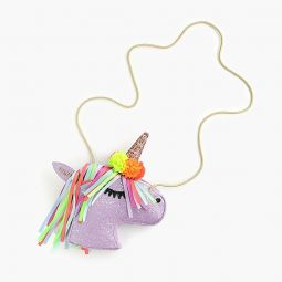 Girls glitter unicorn bag