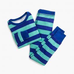 Kids pajama set in stripes
