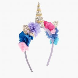 Girls glittery unicorn headband