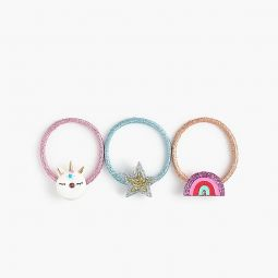 Girls magical hair tie three-pack