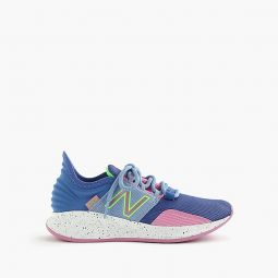 Kids New Balance for crewcuts blue Fresh Foam Roav sneakers in larger sizes