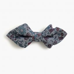 Boys cotton bow tie in Liberty colombo chambray