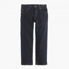 Boys wrinkle rinse wash jean in straight fit