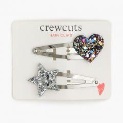 Girls celestial hair clips